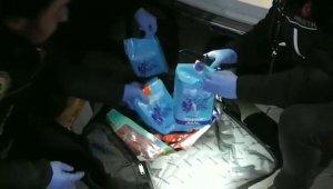Yurt dışından getirilen çay paketlerinden uyuşturucu madde çıktı