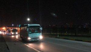 ABD'den gelen 210 kişi Manisa'daki KYK yurduna yerleştirildi