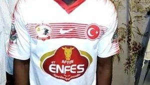 Afyonkarahisar'da Amatör Lig takımından ''Evde Kal'' çağrısına destek