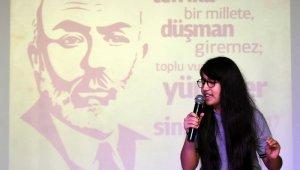 Aliağa'da İstiklal Marşı'nın kabulü ve Mehmet Akif Ersoy'u anma programı