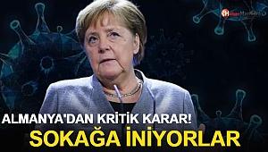 Almanya'dan Kritik Karar! Sokağa İniyorlar