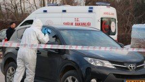 Araç içindeki cesedin ölüm nedeni beyin kanaması çıktı