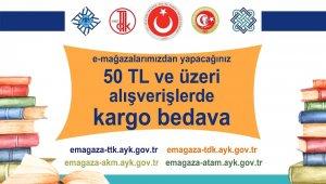 Atatürk Kültür, Dil ve Tarih Yüksek Kurumu bünyesindeki kurumlardan kitapseverlere müjde