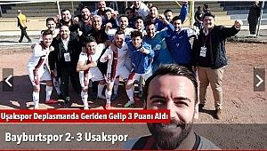 Bayburtspor  2- 3 Usakspor