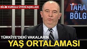 Bilim Kurulu Üyesi, Türkiye'deki Vakaların Yaş Ortalamasını Açıkladı
