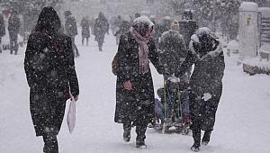 Dikkat! Meteoroloji'den 7 İl İçin Kar Uyarısı
