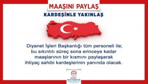 Diyanet İşleri Başkanı Erbaş'tan yardım kampanyası
