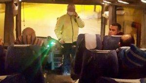 Emet Emniyet Müdürlüğü'nden yolcu otobüslerine sıkı denetim