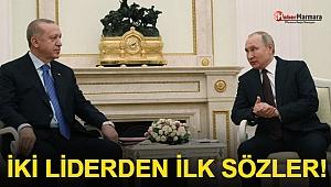 Erdoğan-Putin Görüşmesi Sona Erdi! İki Liderden Son Dakika Açıklamalar