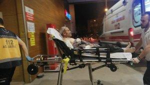 Evinde tüp patlayan yaşlı adam yaralandı