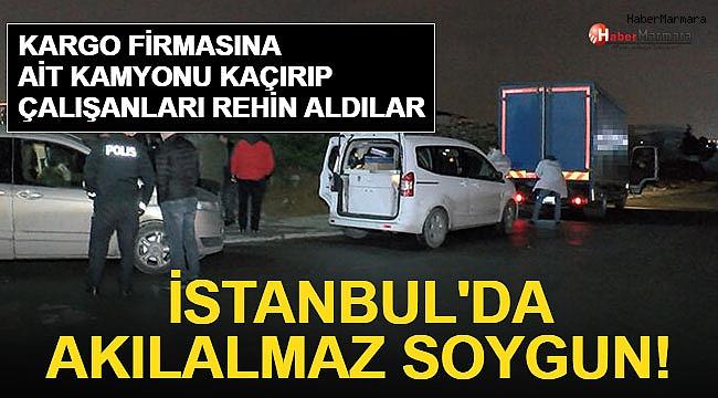 İstanbul'da Akılalmaz Soygun!