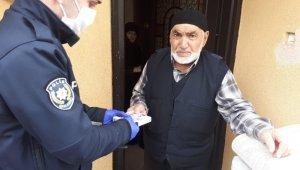 Kore Gazisi'nin yardımına polis yetişti