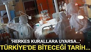 Korona Salgınının Kontrol Altına Alınacağı Tarihi Açıkladı! 'Herkes Kurallara Uyarsa...'