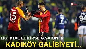 Lig İptal Edilirse G.Saray'ın Kadıköy Galibiyeti...