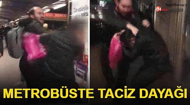 Metrobüste Taciz Dayağı