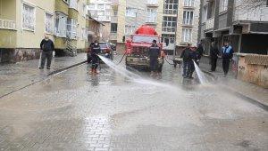 Muş'ta cadde ve sokaklar pırıl pırıl