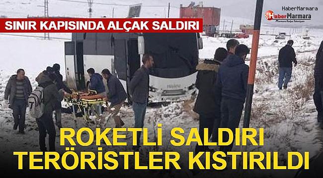 Roketli Saldırı, Yaralılar Var! Teröristler Kıstırıldı