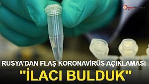 Rusya Koronavirüsü Tedavi Edecek İlacı Geliştirdiğini Duyurdu