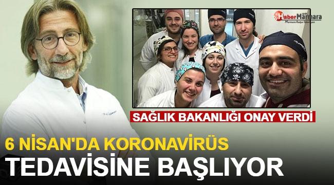 Türk Profesör Ovalı ve Ekibi 6 Nisan'da Koronavirüs Tedavisine Başlıyor