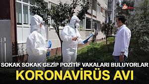 250 kişilik filyasyon ekibi korona virüs avında