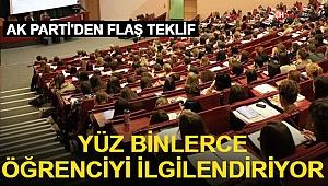 AK Parti'den Üniversitelere İçin Kanun Teklifi