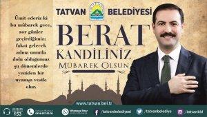 Başkan Geylani'den Berat Kandili mesajı