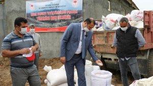 """Bermaz Ovası'nda """"Gezin Fasulyesi"""" için tohum desteği"""