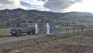 Bingöl'de bir bölge karantinaya alındı