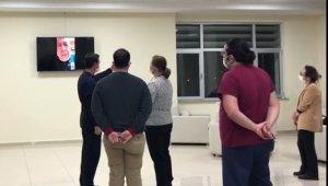 ÇOMÜ Rektörü Murat, hastane çalışanlarına seslendi