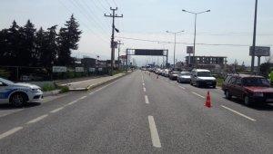 Edremit'e giriş-çıkışlarda yol kontrol tedbirleri artırıldı
