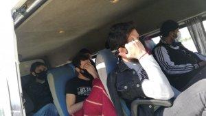 Fazla yolcu taşıyan servis aracına ağır ceza