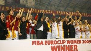 Galatasaray, kadın basketbol takımının ilk Avrupa zaferini unutmadı