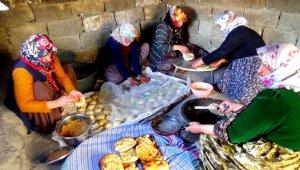 Hakkari'de korona virüs tandır ekmeğine ilgiyi arttırdı