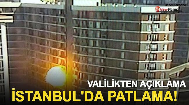 İstanbul'da Bir Binada patlama: Yaralılar var