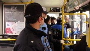 İstanbul polisinden toplu taşımadaki yolculara