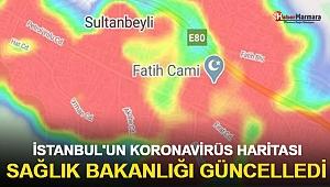 İşte İstanbul'un koronavirüs haritası