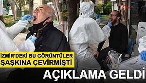 İzmir'de Sokakta Vatandaşlara Koronavirüs Testi