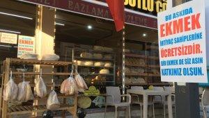 Kızılcahamam'da 'Askıda ekmek' kampanyası başladı