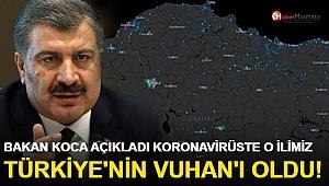 Sağlık Bakanı Koca: ''Koronavirüste O İlimiz  Türkiye'nin 'Vuhan'ı Oldu!