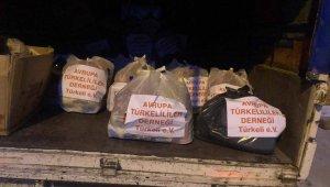 Türkeli'de ihtiyaç sahibi ailelere yardım