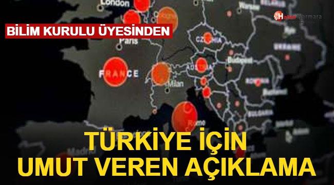 Türkiye Umut Veren Açıklama! Bilim Kurulu Üyesi Tarih Verdi