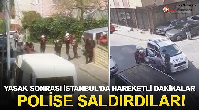 Yasak Sonrası İstanbul'da Hareketli Dakikalar