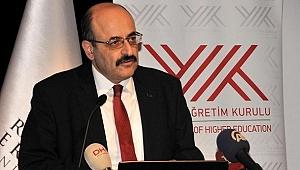 YÖK Başkanı 'Hayırlı Olsun' Deyip Duyurdu!