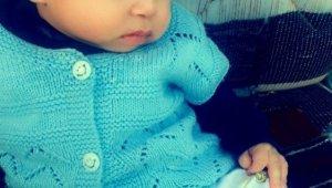 5 aylık bebek kalbine yenildi