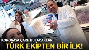 ABD'deki Türk ekipten dünyada bir ilk! Koronaya çare bulacaklar