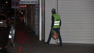 Afyonkarahisar'da ilk kez uygulanan sokağa çıkma yasağı başladı