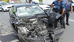 AK Partili Milletvekili trafik kazası geçirdi