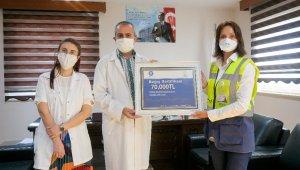 Akkuyu Nükleer A.Ş.'den sağlık kurumlarına 140 bin TL'lik bağış
