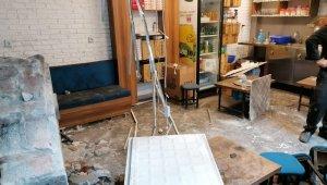 Amasya'da izne çıkan yaşlı adamın başına çatı düştü