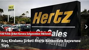 Araç Kiralama Şirketi #Hertz Konkordato Başvurusu Yaptı